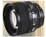 Nikon AF Nikkor 85mm f/1.4D IF