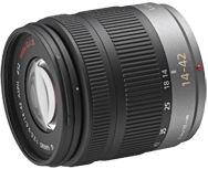 Panasonic LUMIX G VARIO 14-42mm F3.5-5.6 ASPH MEGA O.I.S.