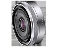 Sony E16mm f/2.8