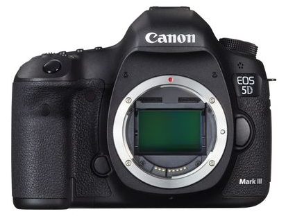 Canon 5D Mark III sensor
