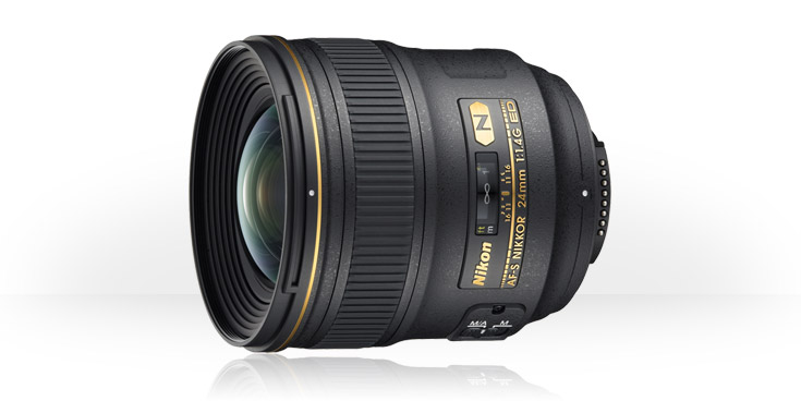Nikon AF-S Nikkor 24mm f/1.4G ED