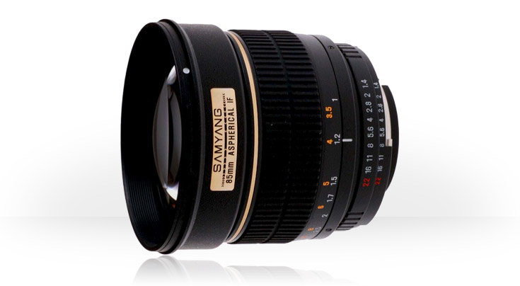 Samyang 85mm f/1.4 Aspherical IF