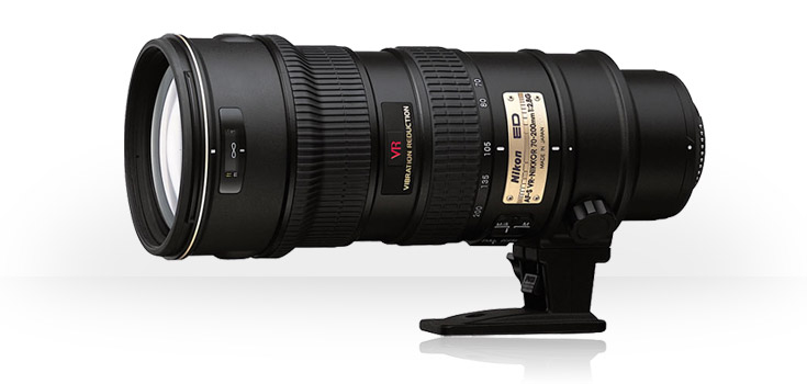 Nikon's AF-S VR Zoom-Nikkor 70-200mm f/2.8G IF-ED