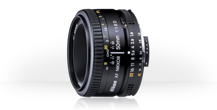 The Nikon AF Nikkor 50mm f/1.8D