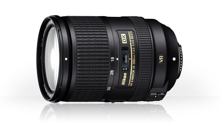 AF-S DX Nikkor 18-300mm f/3.5-5.6G ED VR