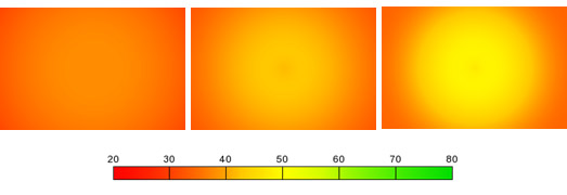 Pentax smc DA 40mm f/2.8 XS: resolution maps