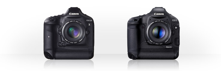 Canon EOS-1D X vs EOS-1D Mark IV