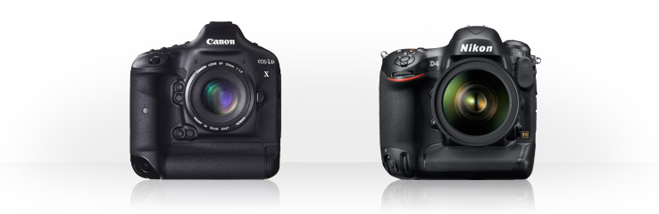 Canon EOS-1D X vs Nikon D4