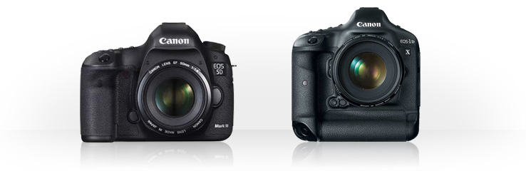 Canon EOS 5D Mark III vs Canon EOS-1D X