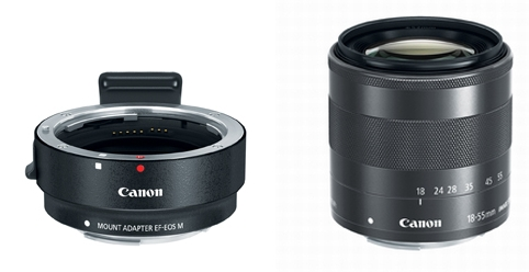 Canon EOS M Lenses