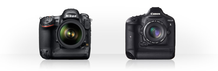 Nikon D4 vs Canon EOS-1D X