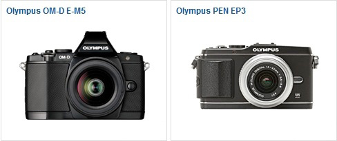 OM-D E-M5 vs Pen E-P3