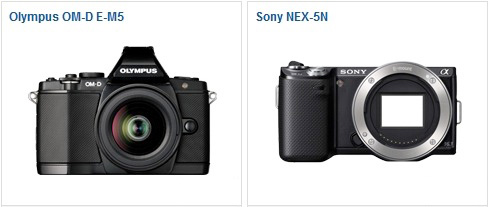 OM-D E-M5 vs Sony NEX-5N