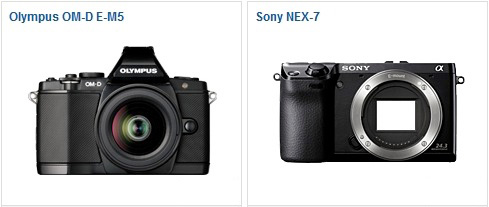OM-D E-M5 vs Sony NEX-7