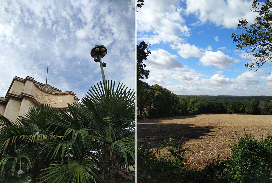 Shooting outdoors, the Q Terra is capable of producing accurate, well-balanced exposures (left). In very bright conditions, details in the darker and low contrast areas are lost (right).