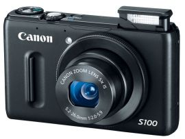 Canon announces a new model in its Powershot S premium compact camera line: the Powershot S100