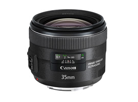 Canon EF 35mm f/2 IS USM preview