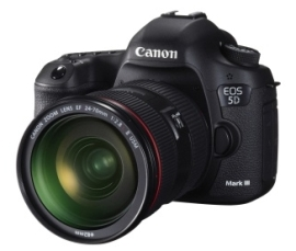 Canon finally reveals the EOS 5D Mark III