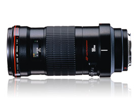 Canon's largest macro lens, the EF 180mm f/3.5L  Macro USM