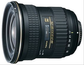 Kenko-Tokina SD 17-35mm F4 AT-X PRO FX lens for Nikon and Canon cameras launched