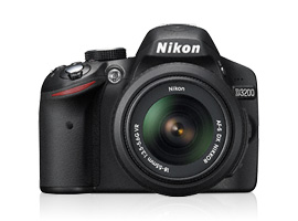 Nikon announces a new entry level DSLR: the Nikon D3200