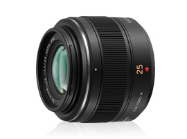 Panasonic Leica Summilux DG 25mm f/1.4, the equivalent of a 50mm f/1.4 lens for micro 4/3 cameras