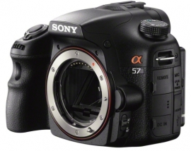 Sony announces the SLT Alpha 57