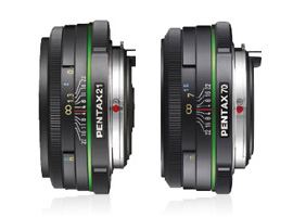 Two new Pentax pancakes to the test: SMC DA 21mm and SMC DA 70mm