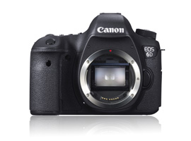 Canon answers Nikon's D600 with the EOS 6D