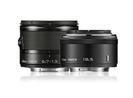 Nikon 1 Nikkor 6.7-13mm f/3.5-5.6 VR & 18.5mm f/1.8 lens reviews: best performing lenses in the range