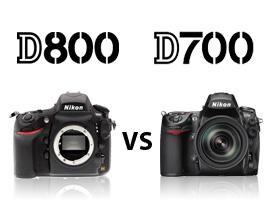 Nikon D800 vs Nikon D700