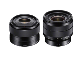 Sony E 35mm f1.8 and Sony E 10-18mm f4: A Very Good Standard and a Wide Zoom