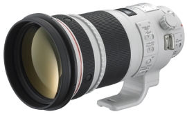 A good (if heavy and expensive) lens: the Canon EF 300 f/2.8L II USM