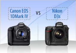 Canon EOS 1D Mark IV vs Nikon D3s