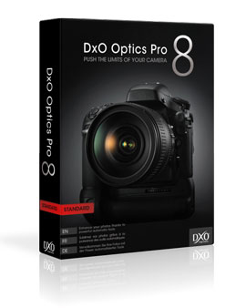 DxO Optics Pro v8.1.2: three new cameras supported and 10,000 DxO Optics Modules available
