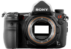 DxOMark review for the Sony Alpha 850