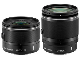 Nikon 1 NIKKOR VR 6.7-13mm f/3.5-5.6 and VR 10-100mm f/4-5.6 preview – Expanding the Nikon 1-Series lens lineup