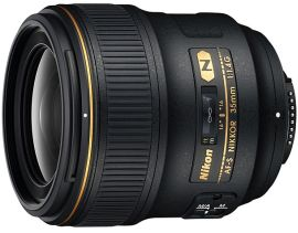 Nikon AF S Nikkor 35mm f1.4G, a new Nikon high-end wide angle lens