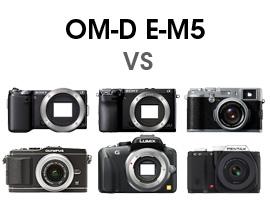 Olympus OM-D versus competition