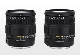Sigma 17-70mm OS HSM and Sigma 24-70mm 2.8 reviews, 2 new trans–standard lenses reviewed on DxOMark
