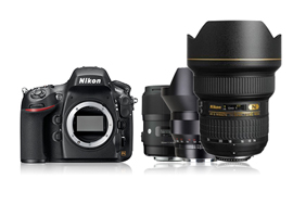 The Nikon D800 and wide-angle lenses. UPDATED