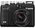 Canon PowerShot G16 Lens