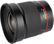 Samyang 16mm f/2.0 ED AS UMC CS Sony