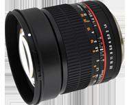Samyang 85mm f/1.4 Aspherique IF Pentax