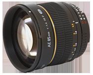 Samyang 85mm f/1.4 Aspherique IF Nikon