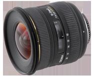 Sigma 10-20mm F4-5.6 EX DC HSM Nikon