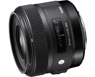 Sigma 30mm F1.4 DC HSM A Canon