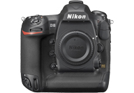 Nikon D5 with no lenses