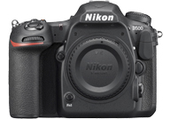 Nikon D500 with no lenses