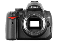 Nikon D5000 with no lenses